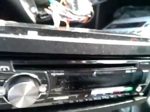 hqdefault installing new head unit (pioneer deh x55hd) part 1 youtube pioneer deh x5500hd wiring harness diagram at webbmarketing.co