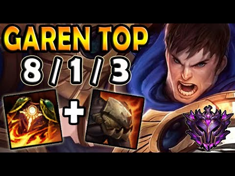 OTP Garen vs Jayce [ TOP ] Lol Master Korea ✔️ 10.16 ✔️