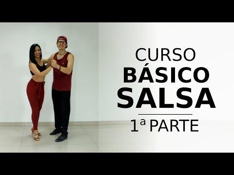 1 Parte - CURSO BÁSICO DE SALSA ¡(Aprende Desde Cero)! [[MUY BIEN EXPLICADO]]