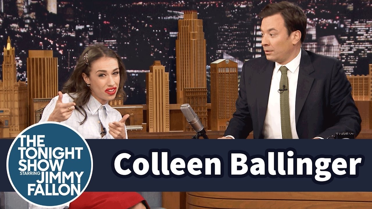 Download Colleen Ballinger Transforms into Miranda Sings to Interview Jimmy