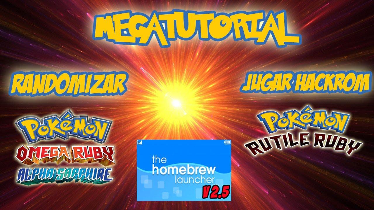 MEGATUTORIAL] Randomizar tu Pokemon OR/AS - Jugar Hackroms (Rutile