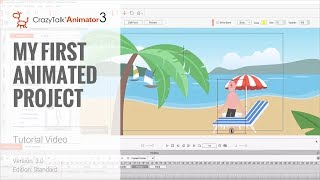 CrazyTalk Animator 3 Tutorial - Getting Started: My First Animated Project