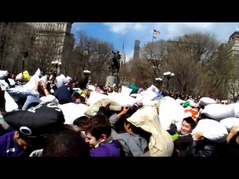 New York City Pillow Fight 2011 @ Union Square Part 3