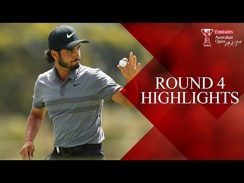 Round 4 Highlights - 2018 Emirates Australian Open ( Aus Open Golf )