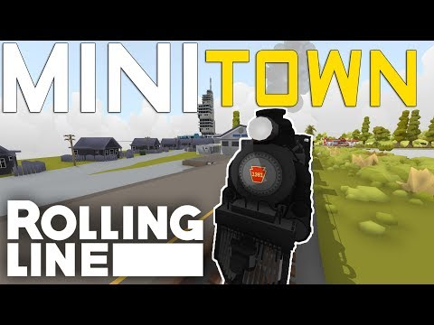 TINY TOWN - VR Toy Train Simulator - Frantic Lines - Part 9