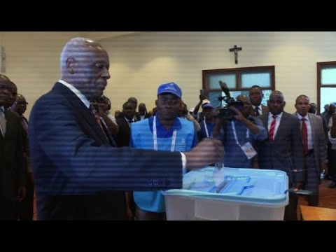 Angola's President Dos Santos votes, ends 38 year reign