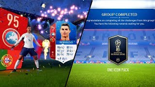 FIFA 18 WORLD CUP MODE PACK OPENING + ICON GUARANTEE PACKS!!