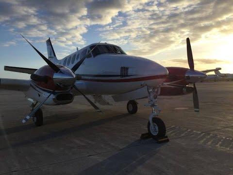 GoProHD  AirAmbulance   KingAir C90  Nassau to Providenciales