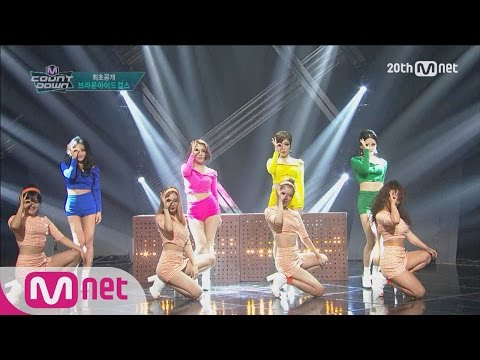 "Brown Eyed Girls(브라운아이드걸스) - ""Warm Hole(웜홀)"" Comeback stage M COUNTDOWN 151105 EP.450"