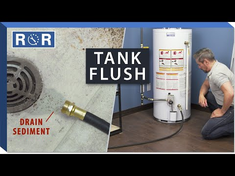 How To Drain & Flush A Hot Water Tank | Repair And Replace