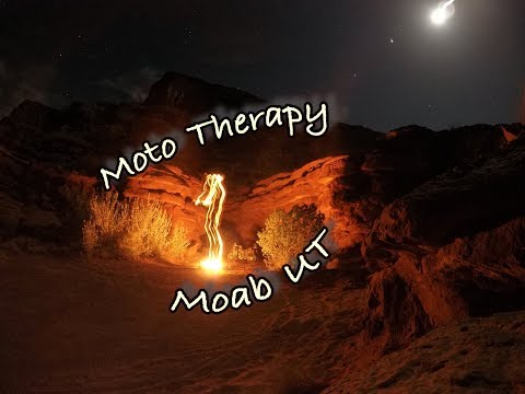 Africa Twin Moto Therapy in Moab Part 1