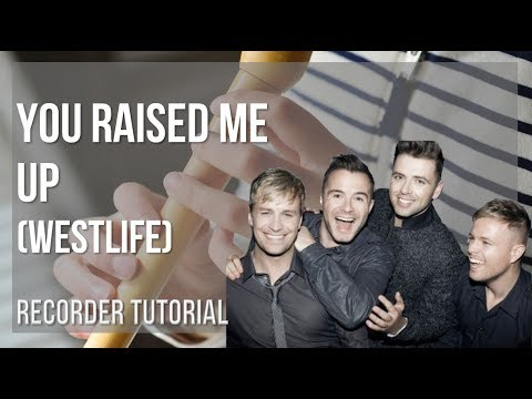 How To Play You Raised Me Up By Westlife On Recorder (Tutorial)