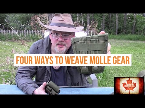 4 Ways to Weave MOLLE Gear