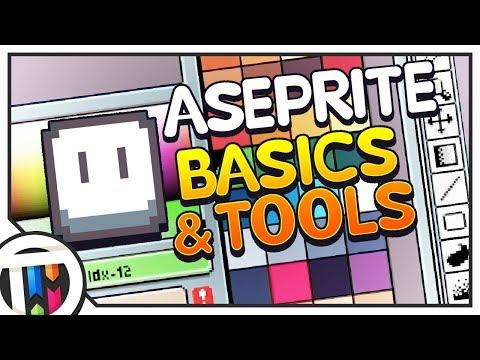 Aseprite Tutorial - Absolute Beginner Tutorial (Basics & Tools!)