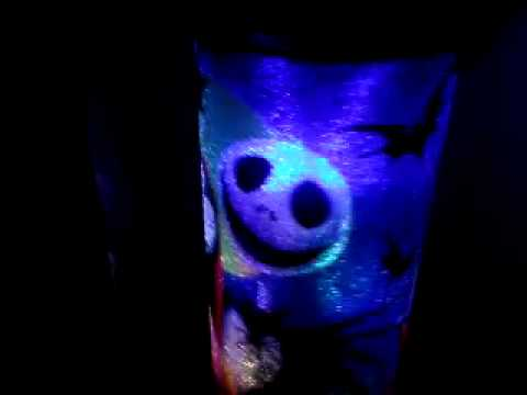 Nightmare Before Christmas Night Light Changes Colors - Nightmare Before Christmas Night Light Changes Colors - YouTube