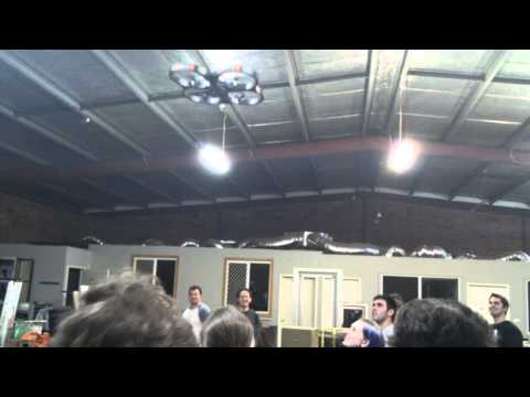 quadcopter at Artifactory, perth's hackerspace