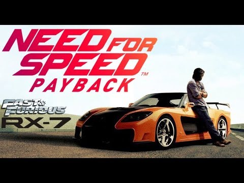 Need For Speed Payback | Tokyo Drift Han's Mazda RX7 Build Tutorial | How To Make | V2
