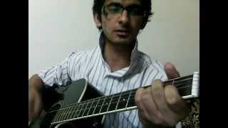 Dil_Ye_Bekarar_Kyun_Hai_Acoustic_guitar_cover.wmv