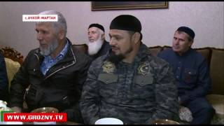 Спортсмен  Бойцовского клуба «Ахмат» Магомед Бибулатов удостоен высшей награды республики