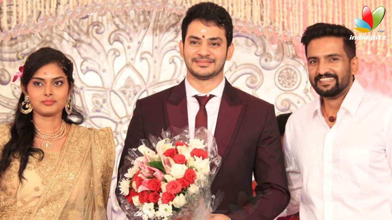 Santhanam Jayam Ravi And Udhayanidhi At Actor Sethuraman Uma Wedding Reception Marriage You