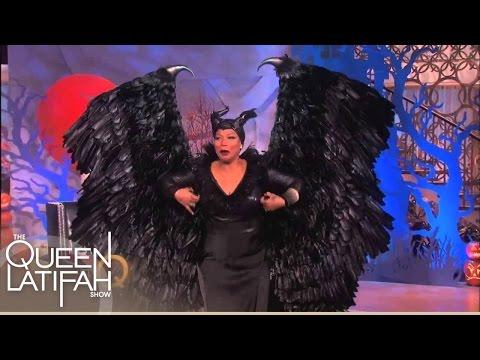 Queen Latifah Brings The Scares!   The Queen Latifah Show