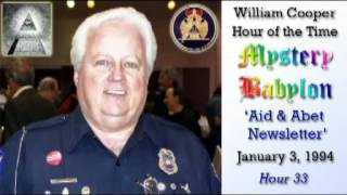 Bill Cooper, Mystery Babylon - Hour 33 - Aid & Abet Newsletter.