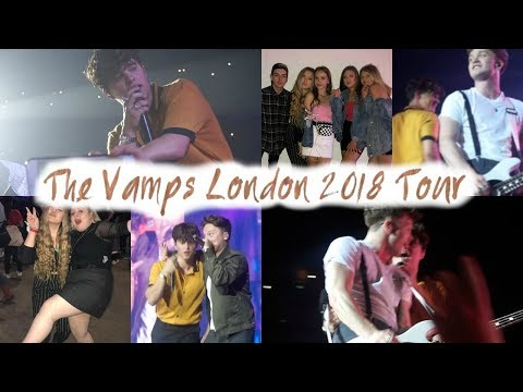The Vamps London Night & Day Tour 2018!// Emmie Alice