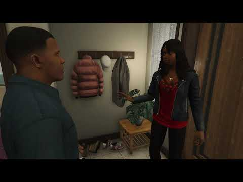 Tanisha breaks up with Franklin because of Yee yee arse haircut - GTA V