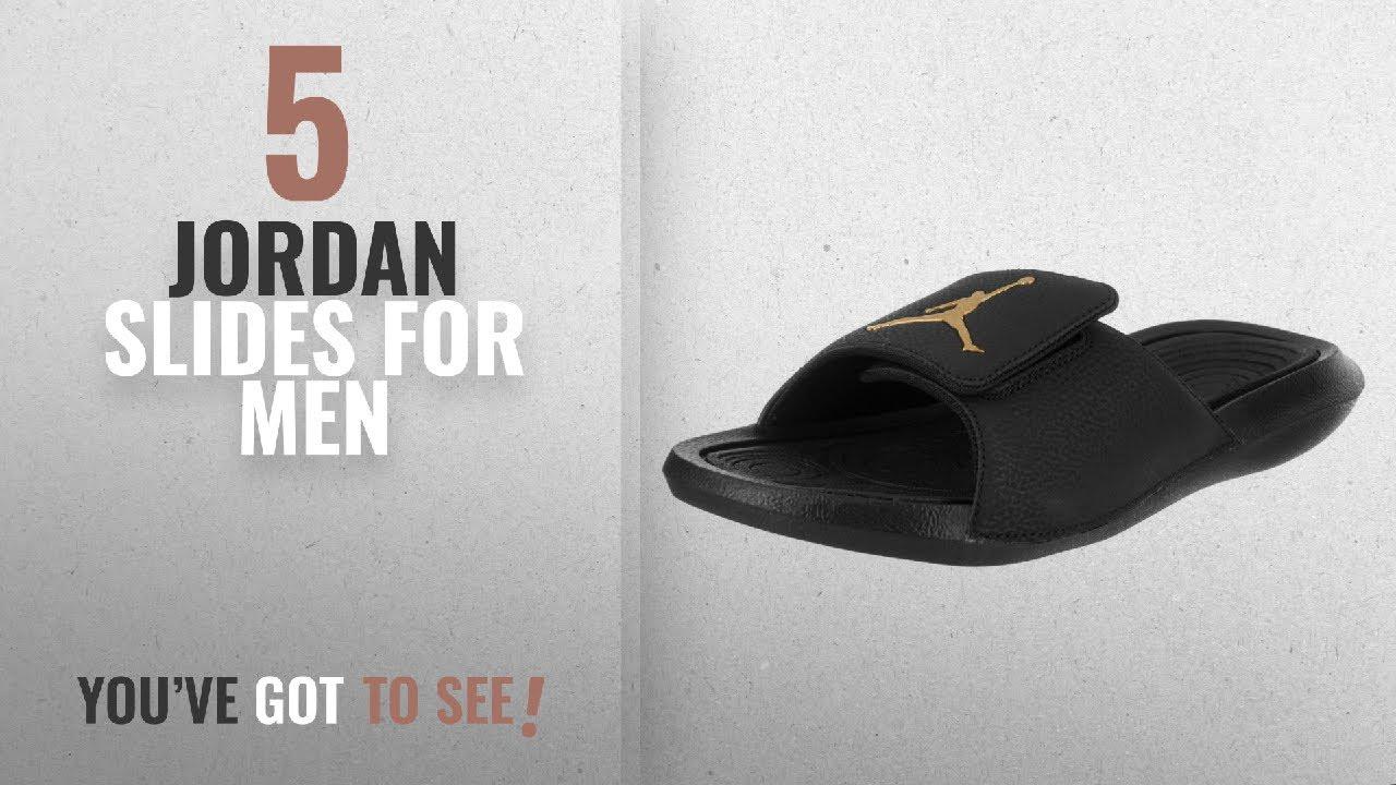 bbc98cfa0 Top 10 Jordan Slides  2018    Jordan Nike Men s Hydro 6 Black ...