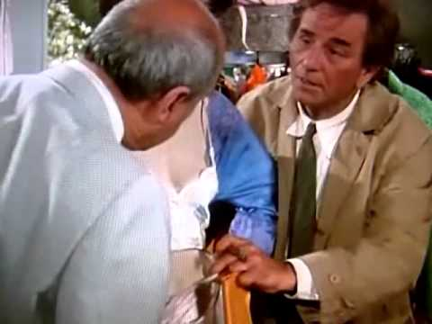 Lt. Columbo - Panty expert. Knowing Labels on Panties SOLVES CRIME!