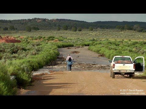 Johnson Canyon Flash Flood, July 28th 2017