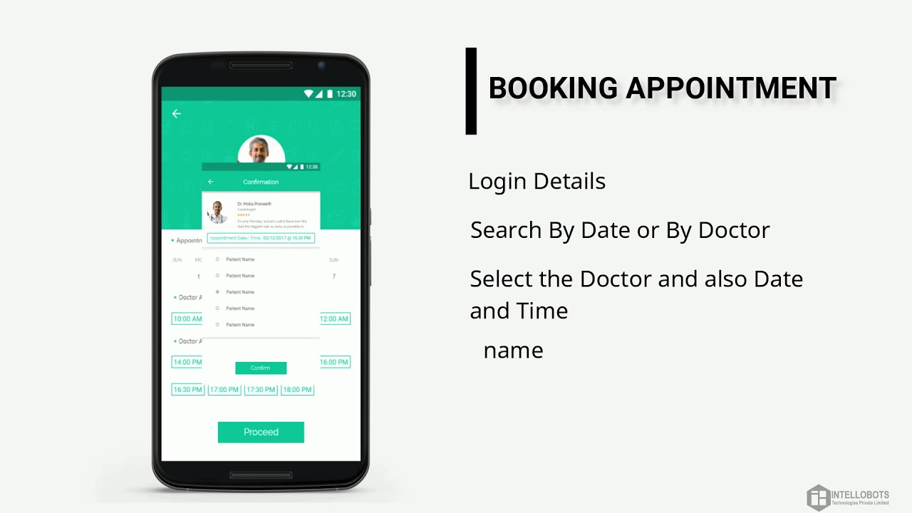 tasa- echs online doctor appointment booking application for