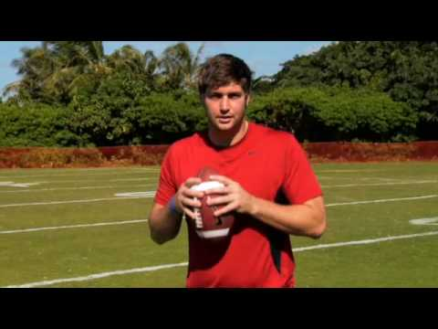 How to do a Three Step Drop ( Jay Cutler)