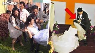 Novias que perdieron la dignidad antes de la boda