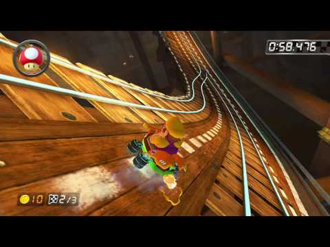 Wii Wario's Gold Mine - 1:52.203 - Da.nny (Mario Kart 8 World Record)