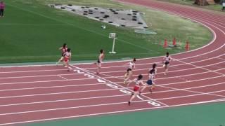 2017 茨城県高校総体陸上 県南地区女子100m決勝