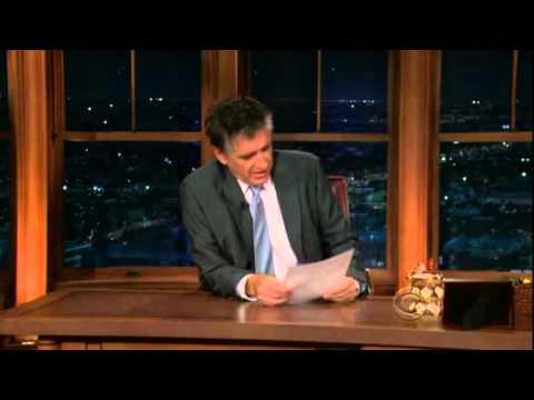 Late Late Show with Craig Ferguson 10/5/2009 Michael Sheen, Viola Davis, Jack Ingram