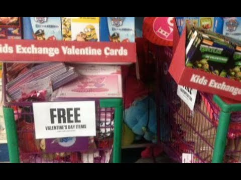 99 Cent Only Valentines Clearance Freebie Haul