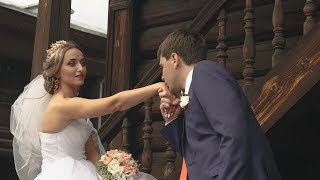 Анастасия и Сергей. Красивая пара, свадьба 2017