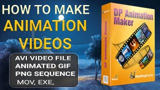 How To Make Animation Video, cartoon video kaise banaye - Best Animation Software