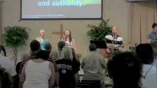 BRC Worship Team - Speak O Lord (written by Keith Getty and Stuart Townend) - 07/01/12