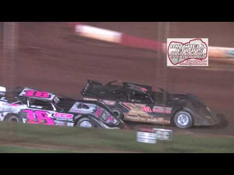Dixie Speedway 8/15/15 Super Latemodel Feature!