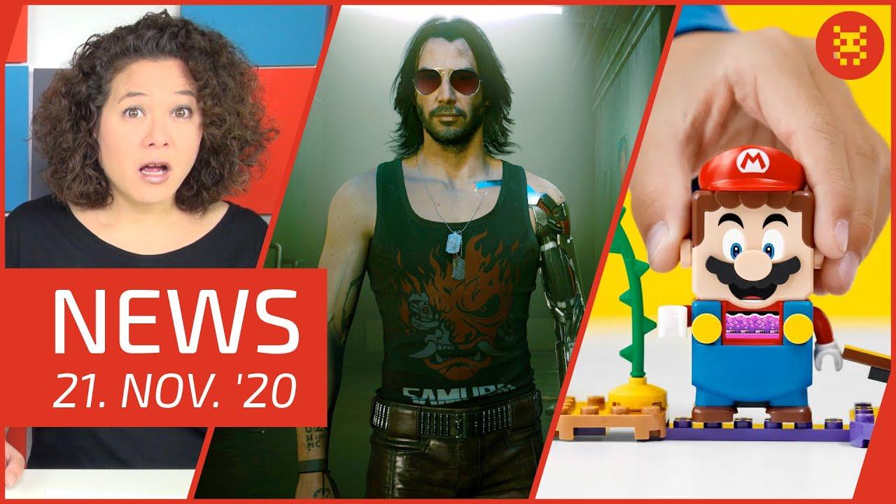 Cyberpunk 2077 - LEGO Super Mario - Game Awards 2020 - Animal Crossing - Mortal Kombat 11 🔥 NEWS