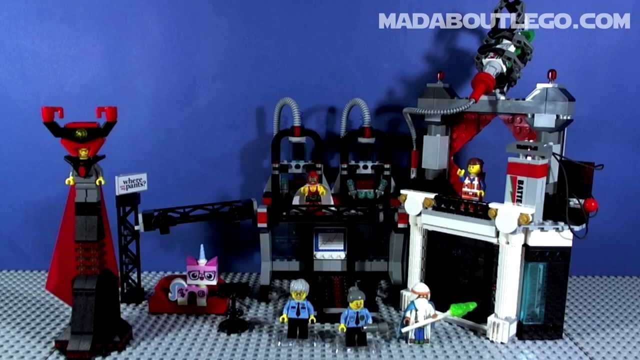Lego MOVIE Lord Business Evil Lair 70809 - YouTube