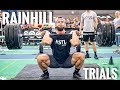 COMPETITION DAY: RAINHILL TRIALS (Day 1)