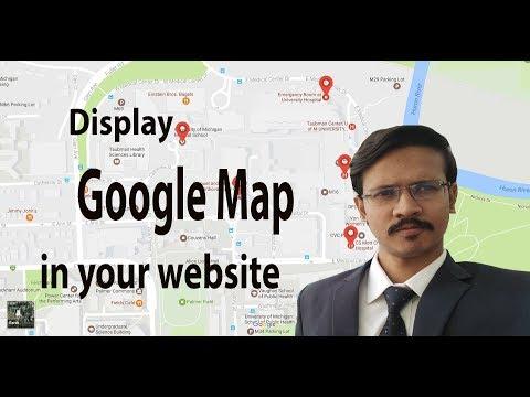 Displaying Google Maps In Asp.net Web Application (Google Map API Part-1)
