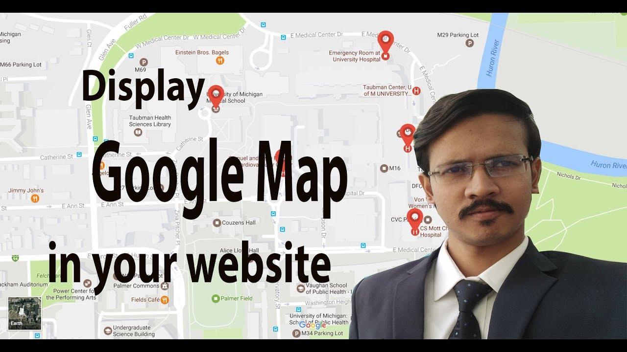 Application Google Map on