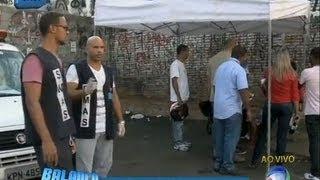 Agentes fazem nova operação contra crack na avenida Brasil (RJ)
