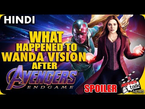 AVENGERS Endgame : Will Scarlet Witch & Vision Return? [Explained In Hindi]