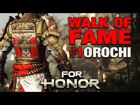 For Honor Gameplay German - Walk of Fame #01 - OROCHI